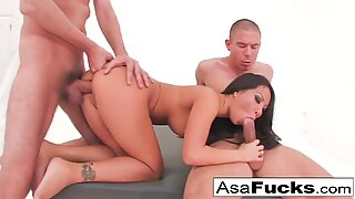 Asa's Double Anal and Double Penetration